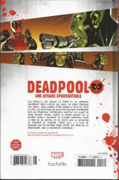 Verso de Deadpool - La collection qui tue (Hachette) -828- Une affaire épouvantable