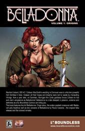 Verso de Belladonna - Origins -INT01- Volume 1 : origins