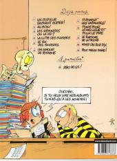 Verso de L'Élève Ducobu -9a2005- Le fortiche de la triche