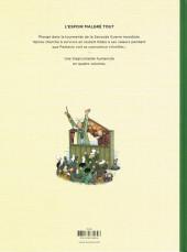 Verso de Spirou et Fantasio par... (Une aventure de) / Le Spirou de... -15- L'Espoir malgré tout - Deuxième partie - Un peu plus loin vers l'horreur