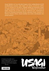 Verso de Usagi Yojimbo (en couleur) -1- Livre premier : Rônin