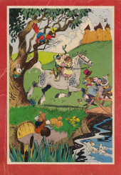 Verso de Dell Junior Treasury (1955 - 1957) -4- Adventures of Mr. Frog and Miss Mousie