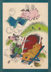 Verso de Dell Junior Treasury (1955 - 1957) -9- Clementina the Flying Pig