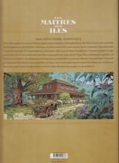 Verso de Les maîtres des îles -1- Aux vents des Antilles : Martinique 1845