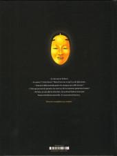 Verso de Le masque aux mille larmes -1- La mort marche avec moi