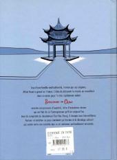 Verso de Bienvenue en Chine