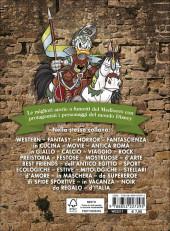 Verso de Le più belle storie - Del Medioevo