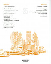 Verso de XIII -25- The XIII history