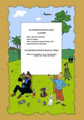 Verso de Tintin - Pastiches, parodies & pirates - La bête de la sorcière