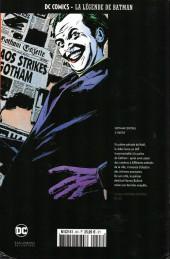 Verso de DC Comics - La légende de Batman -HS8- Gotham central - 2ème partie