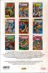 Verso de Conan le barbare : l'intégrale -1- 1970-1971