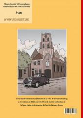 Verso de Le voyage énigmatique de Geert Uytdenberghe - le voyage énigmatique de Geert Uytdenberghe