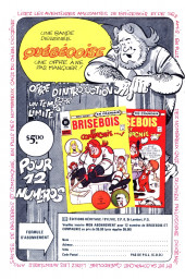 Verso de Archie (1ère série) (Éditions Héritage) -65- Bonheur conjugal