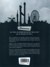 Verso de Les Étudiants de l'académie Brassart Delcourt présentent -2- Tous au parc !