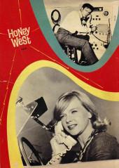 Verso de Honey West (1966) - Honey West