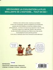 Verso de L'histoire du monde en BD (Joly/Olivier) -3- L'histoire du monde en BD - La Grèce antique