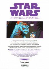 Verso de Star Wars - Nouvelles aventures -1- Tome 1
