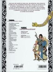 Verso de Thorgal -25b2010- Le Mal bleu