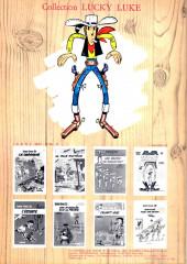 Verso de Lucky Luke -27a1982- Le 20ème de cavalerie