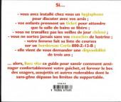 Verso de Illustré (Le Petit) (La Sirène / Soleil Productions / Elcy) - Le Petit Dico Illustré des fonctionnaires