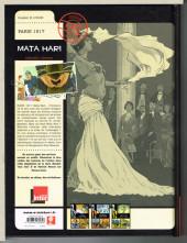 Verso de Rendez-vous avec X -3- Paris 1917 - Mata Hari