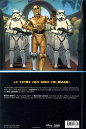 Verso de Star Wars (Panini Comics - 100% Star Wars) -8- Mutinerie sur Mon Cala