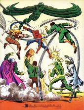 Verso de L'Étonnant Spider-Man (Éditions Héritage) -HS- L'étonnant Spider-Man