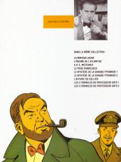 Verso de Blake et Mortimer (Publicitaire) -10Esso- L'affaire du collier