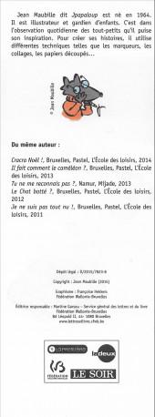 Verso de (AUT) Maubille, Jean - Super pouvoir