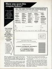 Verso de Marvel Preview (Marvel comics - 1975) -2- Death sentence