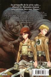 Verso de L'attaque des Titans - Before The Fall -17- Tome 17
