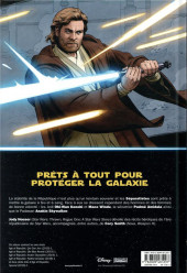 Verso de Star Wars - L'ère de la République -1- Les Héros