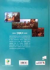 Verso de Histoire des îles de Guadeloupe -2- L'île Rebelle