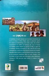 Verso de Histoire des îles de Guadeloupe -3- La crise du système esclavagiste