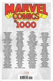 Verso de Marvel Comics (2019) - Marvel Comics #1000