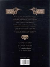 Verso de Chroniques Barbares -INT2- Intégrale II Tomes 4 à 6