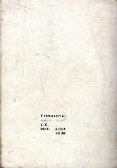 Verso de Brik (Mon journal) -Rec43- Album N°43 (du n°164 au n°166)