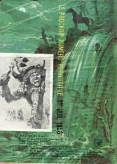 Verso de Indians -21- Long Arc : Guignol