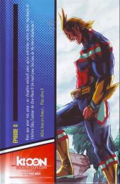 Verso de My Hero Academia -0HC- Two Heroes