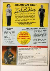 Verso de Fawcett Movie Comic (1949/50) -8- King of the Bull Whip