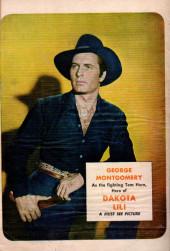 Verso de Fawcett Movie Comic (1949/50) -1- Dakota Lil