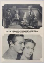 Verso de Fawcett Movie Comic (1949/50) -2- Copper Canyon