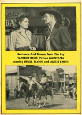 Verso de Fawcett Movie Comic (1949/50) -4- Montana