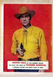 Verso de Fawcett Movie Comic (1949/50) -5- Pioneer Marshall