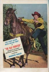 Verso de Fawcett Movie Comic (1949/50) -9- The Old Frontier