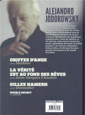 Verso de Alejandro Jodorowsky 90e anniversaire -8- Volume 8