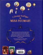 Verso de L'Étrange boutique de Miss Potimary -3- Tome 3