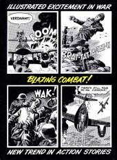 Verso de Blazing Combat (Warren - 1965) -4- (sans titre)