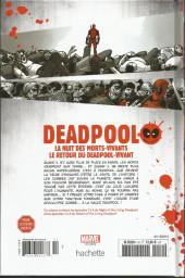 Verso de Deadpool - La collection qui tue (Hachette) -1074- La nuit des morts-vivants / Le retour du Deadpool-vivant