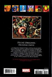 Verso de Marvel Comics - La collection (Hachette) -140102- Péché Originel - Deuxième Partie